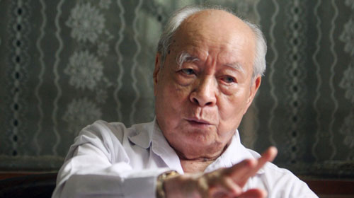 Thiếu tướng Nguyễn Trọng Vĩnh - nguyên Đại sứ đặc mệnh toàn quyền Việt Nam tại Trung Quốc