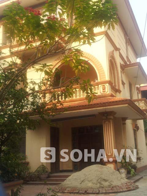 Ngôi nhà 3 tầng khang trang của chị N nằm ở trung tâm TP. Hải Dương
