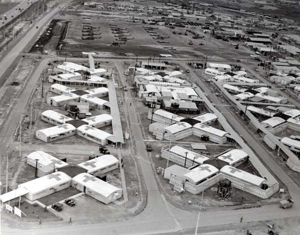 Một phần tổng kho Long Bình, Biên Hòa, kho dự trữ đạn dược lớn nhất của Mỹ trong chiến tranh Việt Nam.