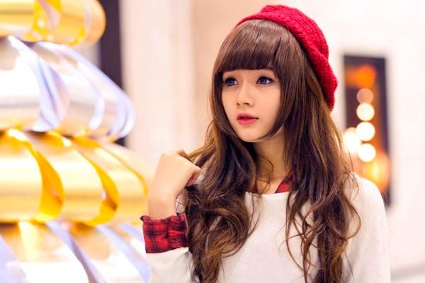 Những hình ảnh mới nhất của Lan Hương trong bộ ảnh chào Giáng sinh 2013