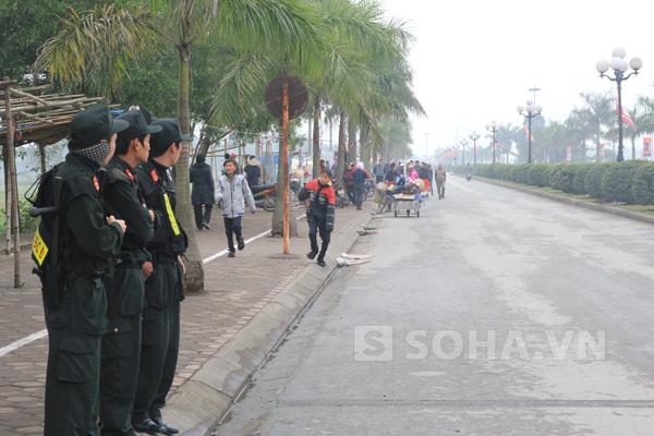 Hàng nghìn chiến sỹ cảnh sát của các lực lượng an ninh đã được huy động.