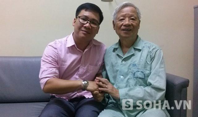 Ông Trần Xuân Giá trong buổi trao đổi cùng chúng tôi