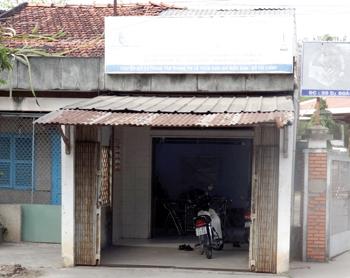 Ngôi nhà cấp 4 đất rộng 200m2 trước cổng chùa Bạch Vân, phường 5, TP Bến Tre gia đình ông Truyền vẫn cho thuê.