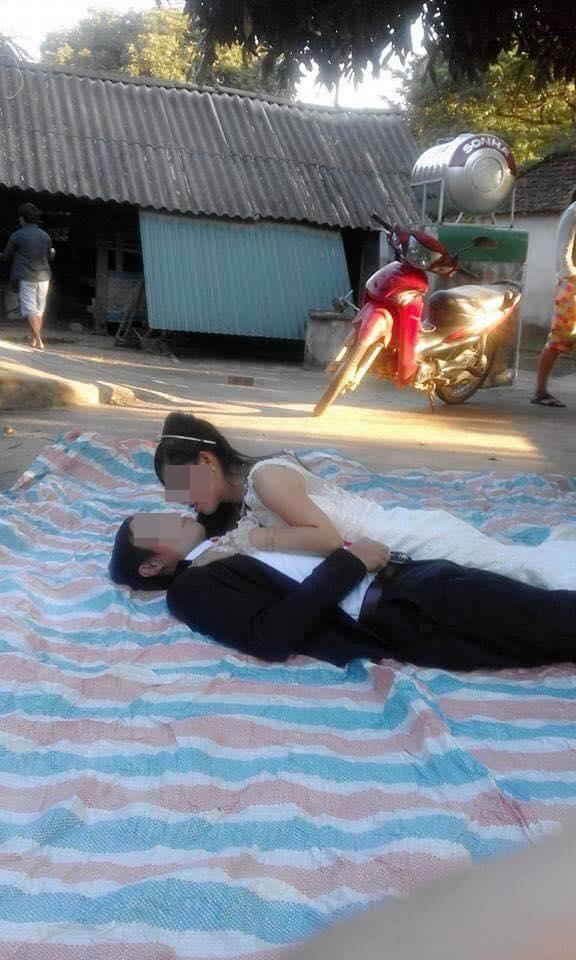 Hậu trường chụp ảnh cưới xấu chưa từng thấy của cặp đôi Việt  - Ảnh 2.