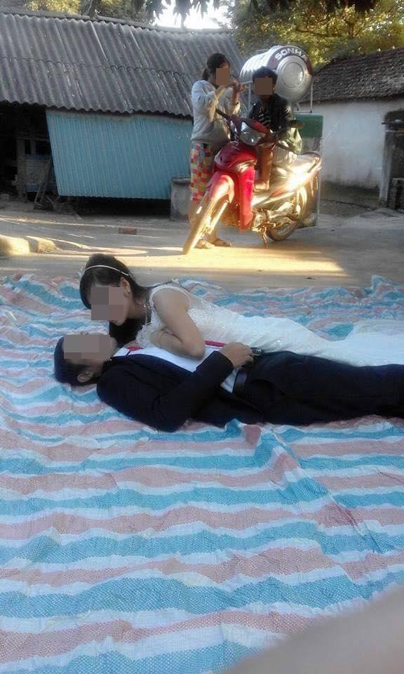 Hậu trường chụp ảnh cưới xấu chưa từng thấy của cặp đôi Việt  - Ảnh 3.