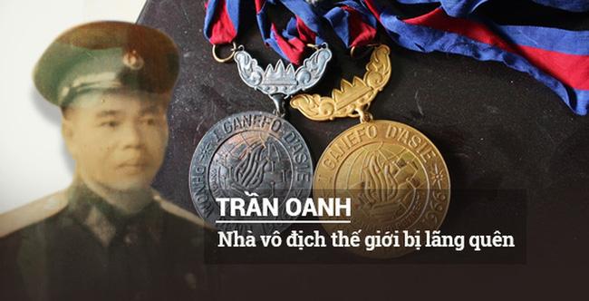 Người hùng Hoàng Xuân Vinh tri ân huyền thoại Trần Oanh - Ảnh 1.