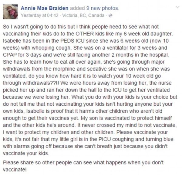 Tâm thư của một bà mẹ trẻ về việc dùng vắc xin gây bão mạng - Ảnh 1.