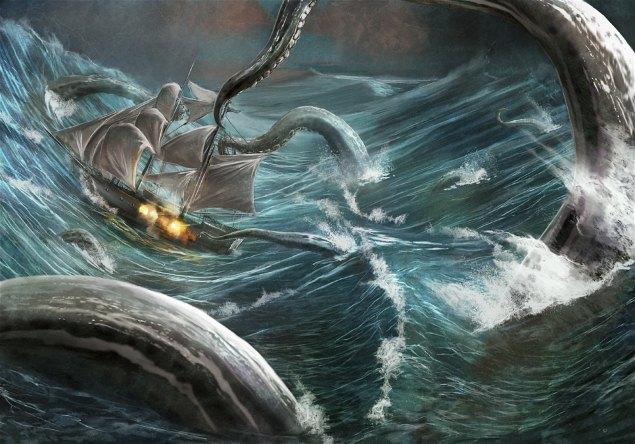 Đây là con thủy quái đáng sợ nhất nơi đáy đại dương tăm tối - Ảnh 2.