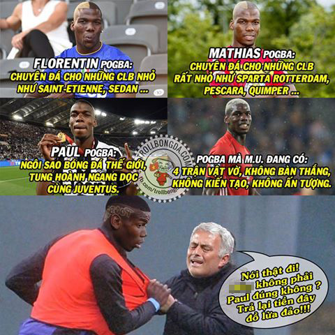 Ảnh chế: Man United bị lừa bán cho Pogba fake? - Ảnh 3.