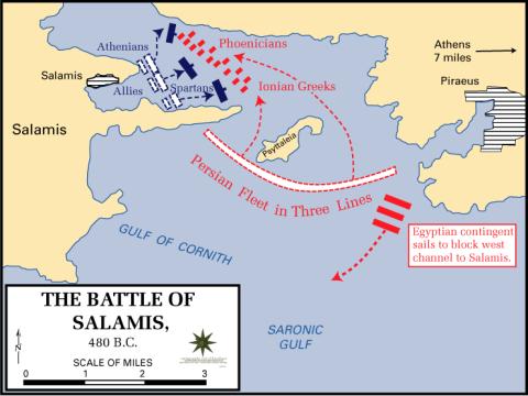 Salamis - Trận hải chiến lớn bậc nhất lịch sử thế giới cổ đại! - Ảnh 2.