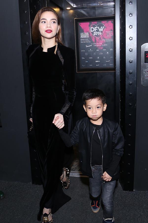 Hồ Ngọc Hà xuất hiện cùng người con trai cô yêu nhất - Ảnh 1.