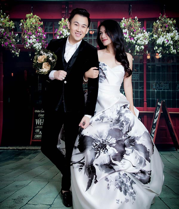 Dương Triệu Vũ, Ngọc Thanh Tâm bất ngờ tung ảnh cưới lãng mạn - Ảnh 2.