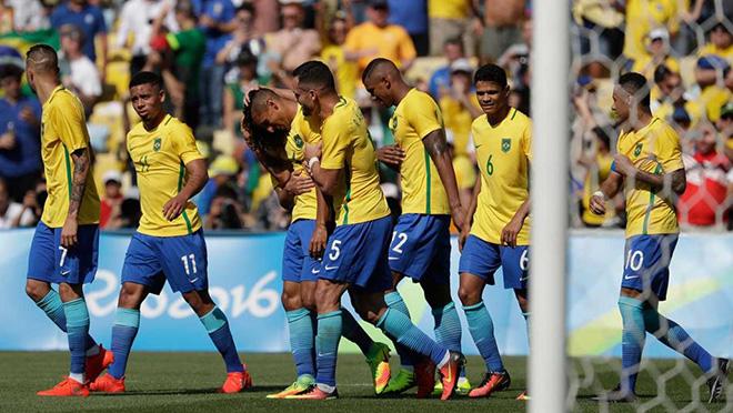 Neymar lập kỉ lục, giấc mơ vàng đã ở rất gần Brazil - Ảnh 3.
