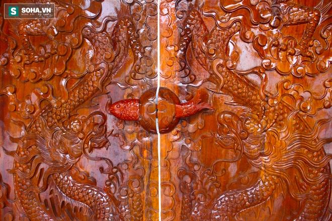 Những pho tượng dát vàng trong đền thờ độc đáo bậc nhất Việt Nam - Ảnh 9.