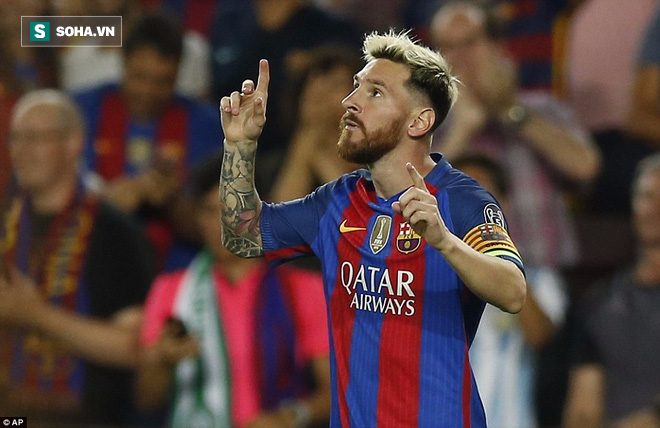 Messi vượt mặt Ronaldo trong ngày Barcelona thắng hủy diệt - Ảnh 3.
