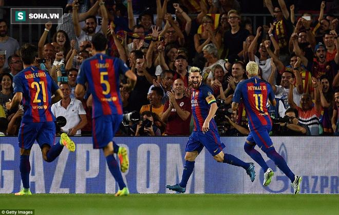 Messi vượt mặt Ronaldo trong ngày Barcelona thắng hủy diệt - Ảnh 5.