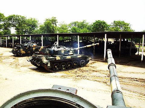 Al-Zarrar - Gói nâng cấp đáng tiền của dòng xe tăng T-54/55 - Ảnh 3.