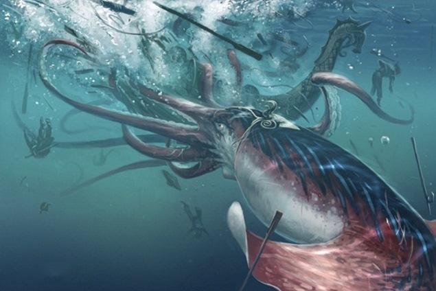Đây là con thủy quái đáng sợ nhất nơi đáy đại dương tăm tối - Ảnh 6.