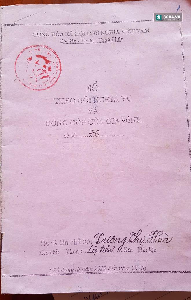 Oái oăm trẻ mới lọt lòng phải còng lưng đóng góp quỹ thôn ở xã Hải Lộc, Thanh Hóa - Ảnh 1.