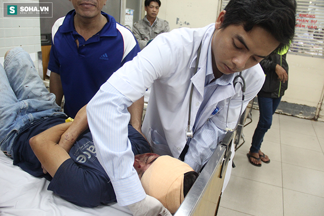 Chuyện ở phòng cấp cứu (1): Ma men chửi, đánh y tá, nôn thốc nôn tháo lên người bác sĩ - Ảnh 6.