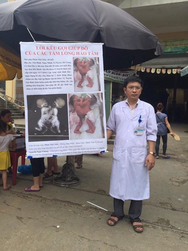 PGĐ bệnh viện ra chợ xin tiền từ thiện được tặng bằng khen - Ảnh 1.