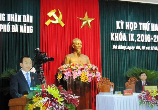 Con trai ông Nguyễn Bá Thanh nói gì khi lần đầu làm đại biểu HĐND? - Ảnh 1.