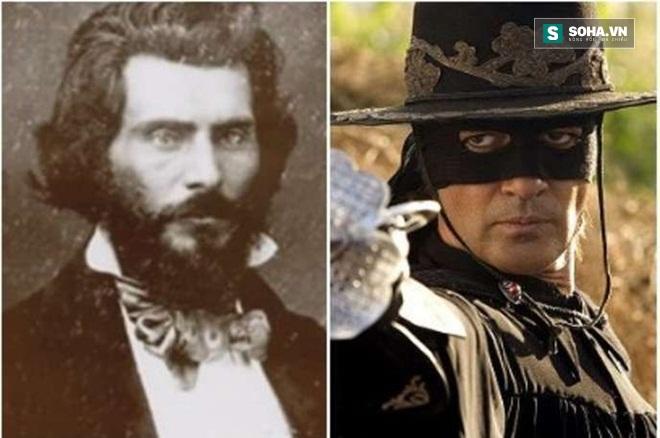Vén màn bí ẩn về thân phận thực sự của người hùng Zorro - Ảnh 1.