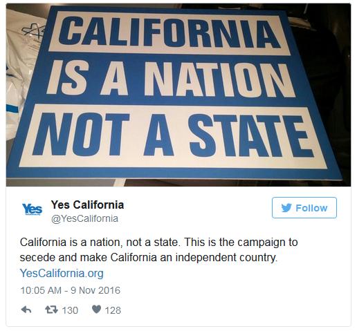 Hậu bầu cử, nhóm cực đoan California kêu gọi tách khỏi nước Mỹ, trở thành quốc gia độc lập - Ảnh 1.