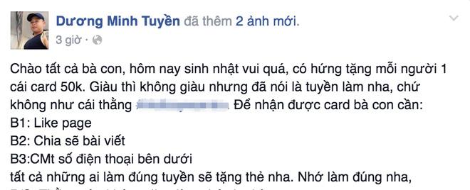 """Và như thế """"Thánh chửi"""" Dương Minh Tuyền đã làm loạn facebook - Ảnh 5."""
