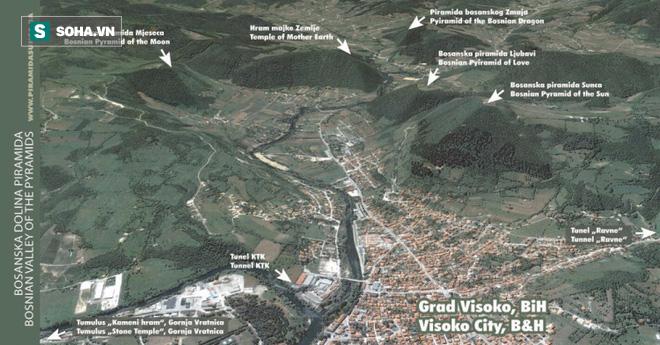 Phát hiện thung lũng kim tự tháp khổng lồ ở Bosnia - Ảnh 1.