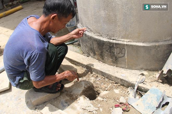 Clip: Lửa ngùn ngụt cháy từ lỗ giếng khoan ở Nghệ An - Ảnh 4.