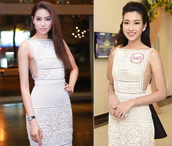 Hoa hậu Đỗ Mỹ Linh và điều dở trong cách ăn mặc - Ảnh 2.
