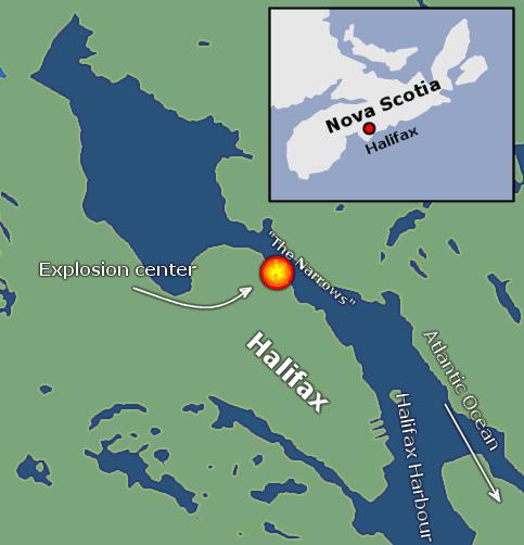 Vụ nổ Halifax: Thảm họa phi hạt nhân khủng khiếp nhất 100 năm qua - Ảnh 3.