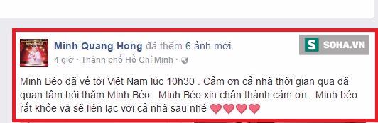 Này Minh Béo, anh nợ chúng tôi một lời xin lỗi chứ không phải xin chào! - Ảnh 1.