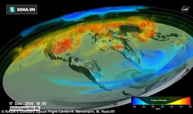 NASA lần đầu tiên tung dữ liệu mật về hiện trạng đáng báo động của Trái Đất - Ảnh 1.
