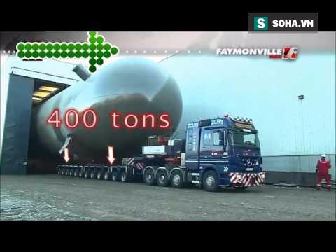 [Vietsub] Đây là cách mà các kỹ sư dùng để di chuyển những khoang tàu nặng hơn 400.000kg - Ảnh 1.