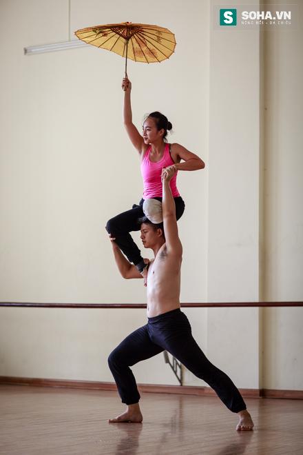 Cuộc sống chưa từng biết của NSƯT Ballet trẻ nhất Việt Nam - Ảnh 19.