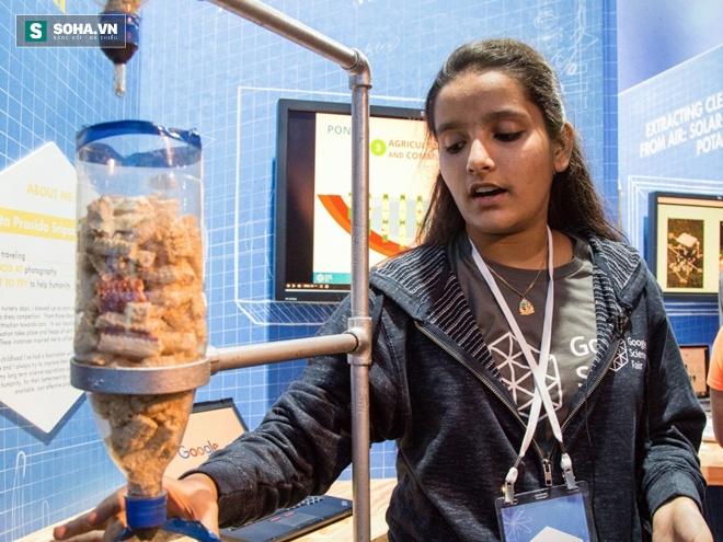 Nữ sinh 16 tuổi sáng chế ra phương pháp phát hiện Ebola - Ảnh 2.