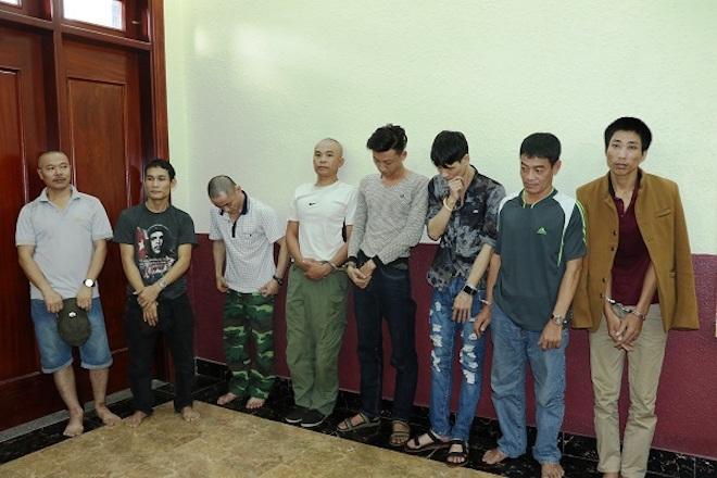 Đột nhập, bắt quả tang 9 thanh niên đang phê ma túy - Ảnh 1.