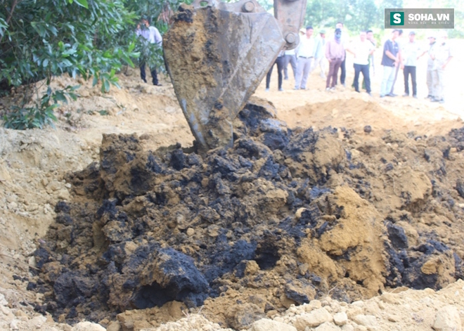 Hà Tĩnh đã có kết quả phân tích chất thải Formosa chôn trái phép - Ảnh 2.