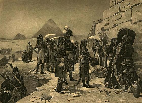 Bí mật đêm kinh hoàng của Napoleon trong kim tự tháp Ai Cập - Ảnh 4.