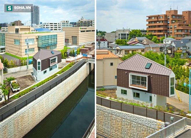 Choáng với kiến trúc của ngôi nhà mỏng đến không tưởng tại Nhật - Ảnh 1.