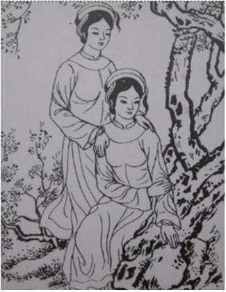 Nhờ ơn ngọn rau muống, con lợn con gà, gái làng Tây Hồ trở thành vợ vua - Ảnh 1.
