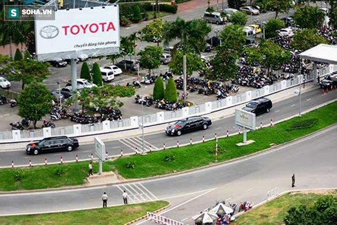 Người dân TP HCM hào hứng chào đón đoàn xe TT Mỹ Obama - Ảnh 8.