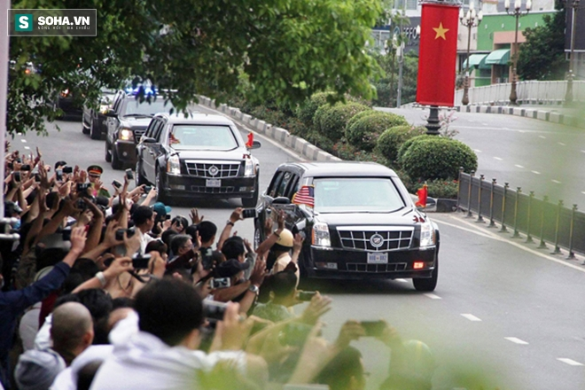 Người dân TP HCM hào hứng chào đón đoàn xe TT Mỹ Obama - Ảnh 10.