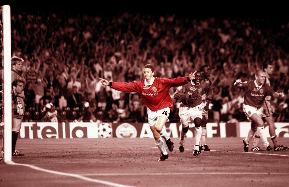 Bàn thắng của Ole Solskjaer trong trận chung kết Champions League 1999