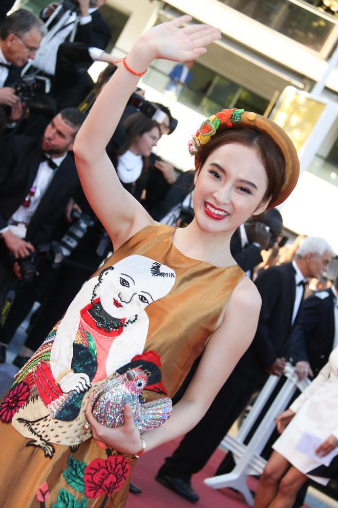 8 giây may mắn của Angela Phương Trinh trên thảm đỏ Cannes: Đừng biến nó thành cú nổ của sự ảo tưởng - Ảnh 2.