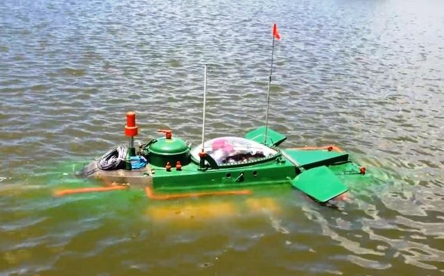 Hình ảnh độc khi tàu ngầm mini Hoàng Sa ra đại dương - Ảnh 8.