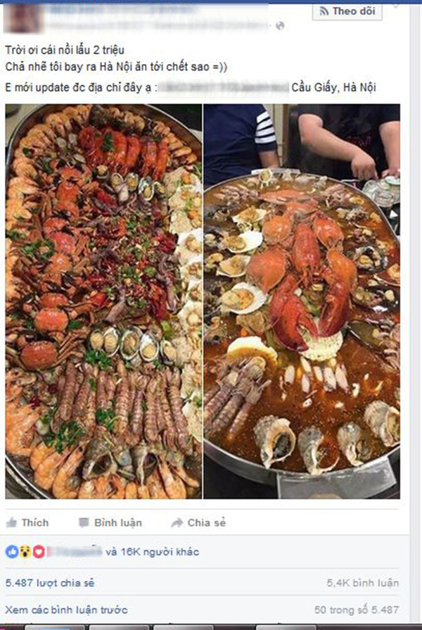 Nồi lẩu 2 triệu ngập mặt ở Hà Nội đang khiến dân mạng sốt vó muốn đi ăn, thực ra là... - Ảnh 1.