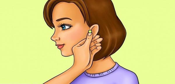 Kiên trì bấm huyệt dái tai, bạn sẽ giảm cân như ý muốn - Ảnh 1.